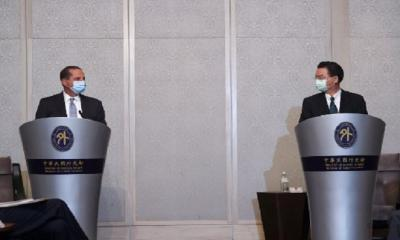 তাইওয়ানকে আরেকটি হংকং বানাতে চায় চীন, পররাষ্ট্রমন্ত্রী জোসেফ উয়ু