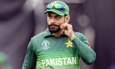 পাকিস্তানি ক্রিকেটার মোহাম্মদ হাফিজের করোনা আবারো পজিটিভ