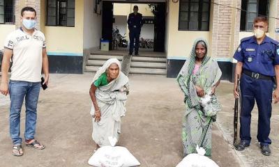 রাজবাড়ী জেলা পুলিশের ঈদ উপহার পেল বালিয়াকান্দির ১৪৫টি পরিবার