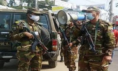 আজ থেকে করোনা মোকাবিলায় কঠোর অবস্থানে সেনাবাহিনী