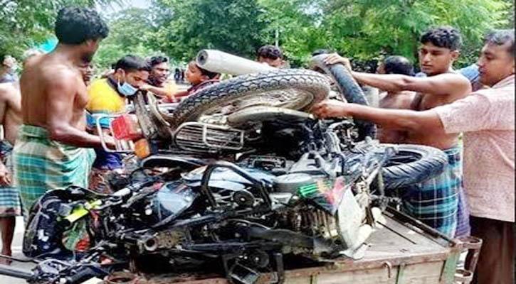 মুজিবনগরে মোটরসাইকেলের মুখোমুখি সংঘর্ষে ৩ জন নিহত