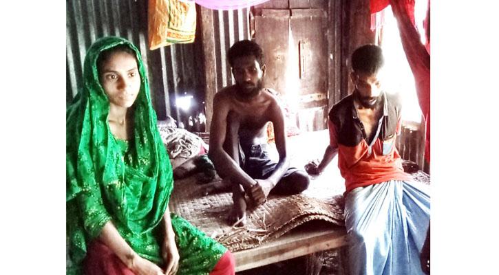 ভেদরগঞ্জে তিন প্রতিবন্ধীর দিন কাটছে চিকিৎসা ও অর্থ কষ্টে