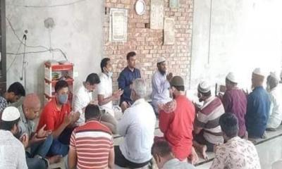 রংপুরে মহানগর ছাত্রদলের দোয়া মাহফিল
