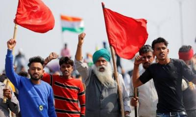 ভারতে কৃষক আন্দোলনের ১০০তম দিন