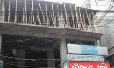 মানিকগঞ্জে আদালতের নির্দেশ অমান্য করে নির্মাণ হচ্ছে বহুতল ভবন