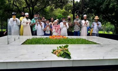 নুহাশপল্লীতে কথাসাহিত্যিক হুমায়ূন আহমেদের মৃত্যুবার্ষিকী পালিত