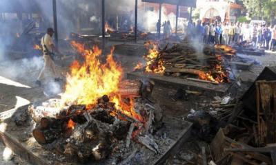 শনাক্ত-মৃত্যুতে ভারতের বিশ্বরেকর্ড