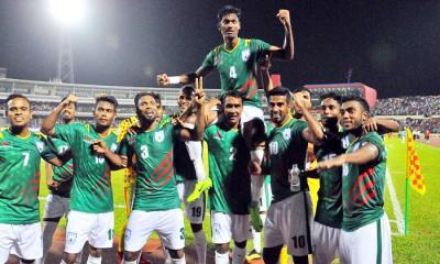 আন্তর্জাতিক ফুটবলে ফিরছে বাংলাদেশ