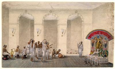 শারদীয় দূর্গাপুজার ইতিহাস