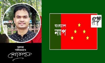 অপরাজনীতির নির্মম বলি সাংবাদিক মুজাক্কির: ন্যাপ