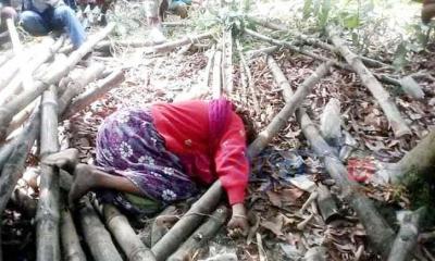 ঝিনাইদহে বাগানে পড়ে ছিল অজ্ঞাত নারীর লাশ