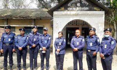 রাজীবপুর থানা পরিদর্শনে পুলিশ সুপার