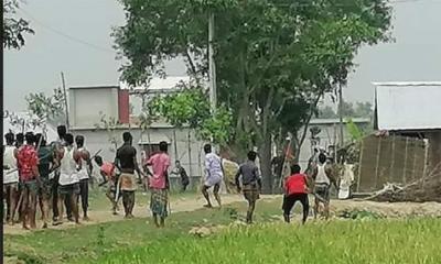 মাধবপুরে দুই গ্রামবাসীর মধ্যে সংঘর্ষে আহত ৫০