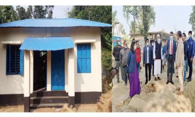 শার্শায় ৫০ গৃহহীন পরিবার পাচ্ছে জমিসহ বাড়ি