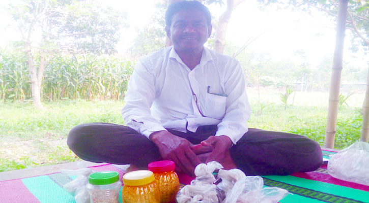 মোজাম্মেল সর্দারের ডায়াবেটিসের ওষুধ দেশের গন্ডি পেরিয়ে যাচ্ছে বিদেশেও