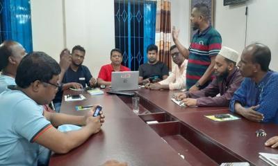শ্রীপুর উপজেলা সাংবাদিক সমিতির সাধারণ সভা অনুষ্ঠিত