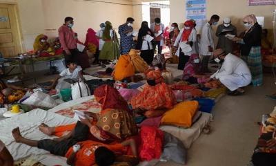 জয়পুরহাটে টাইফয়েডের প্রকোপ, আক্রান্তের বেশিরভাগই শিশু